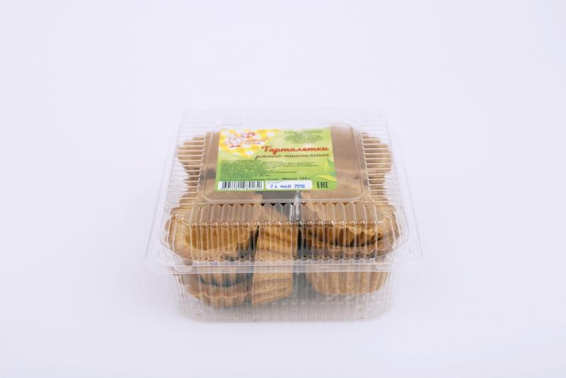 Тарталетки ржано-пшеничные 125 г. (12 шт)